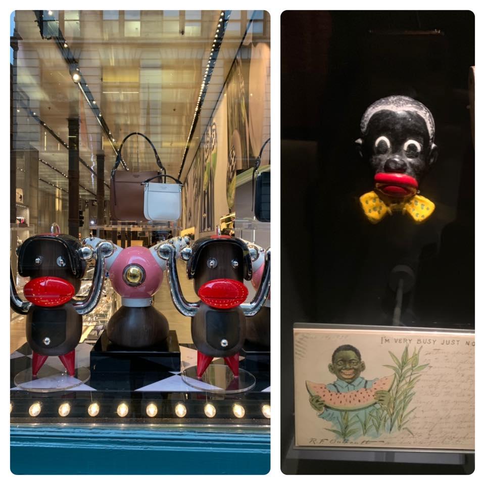 Chinyere wrote that the Prada figurines were 'racist'. Credit: Facebook / Chinyere Ezie