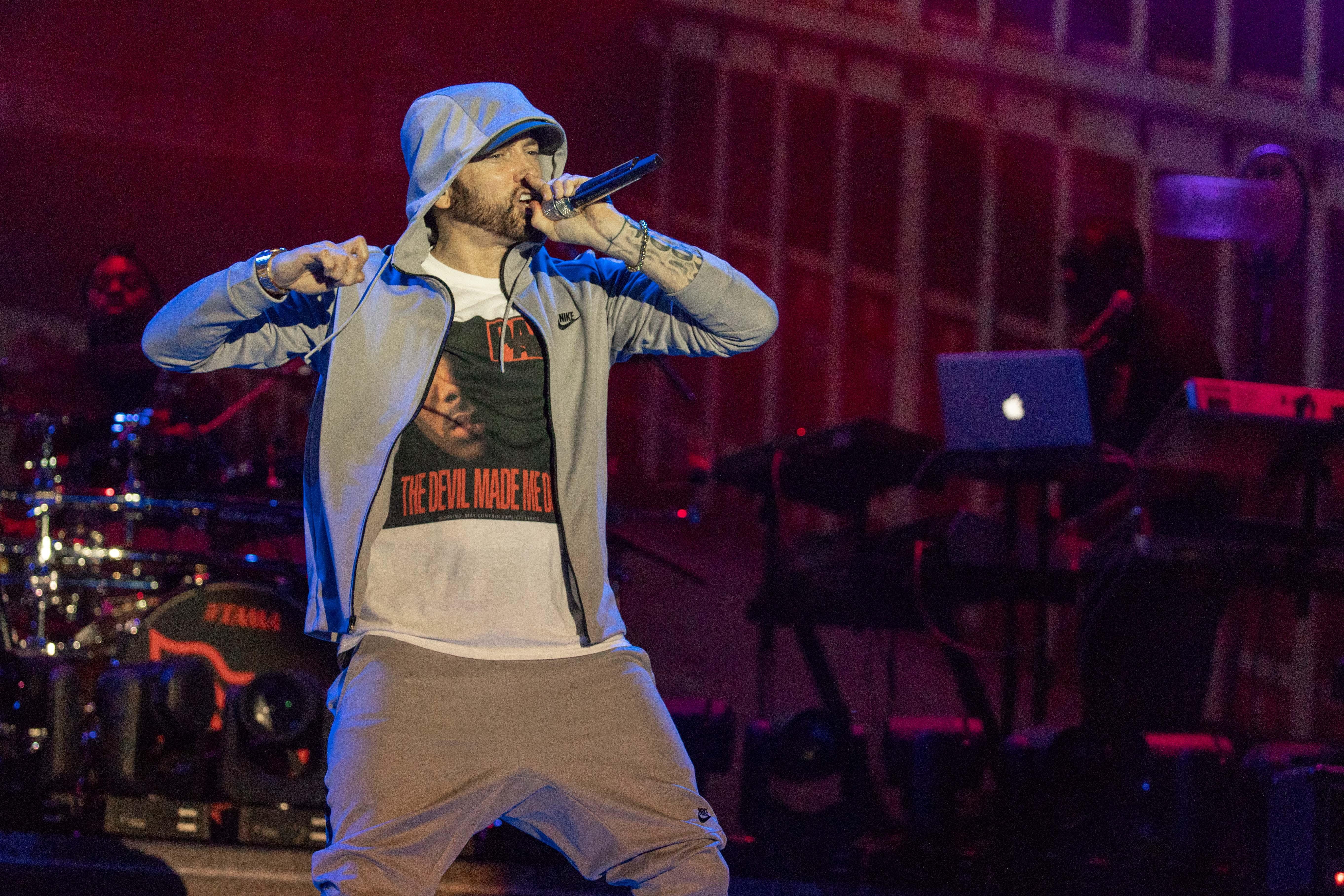 Eminem's 'Kamikaze' Debuts at Number One, Fourth Best Sales of 2018
