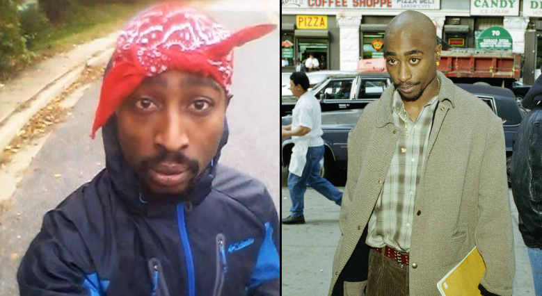 Selfie Seems To 'Prove' That Tupac Is Alive And Well