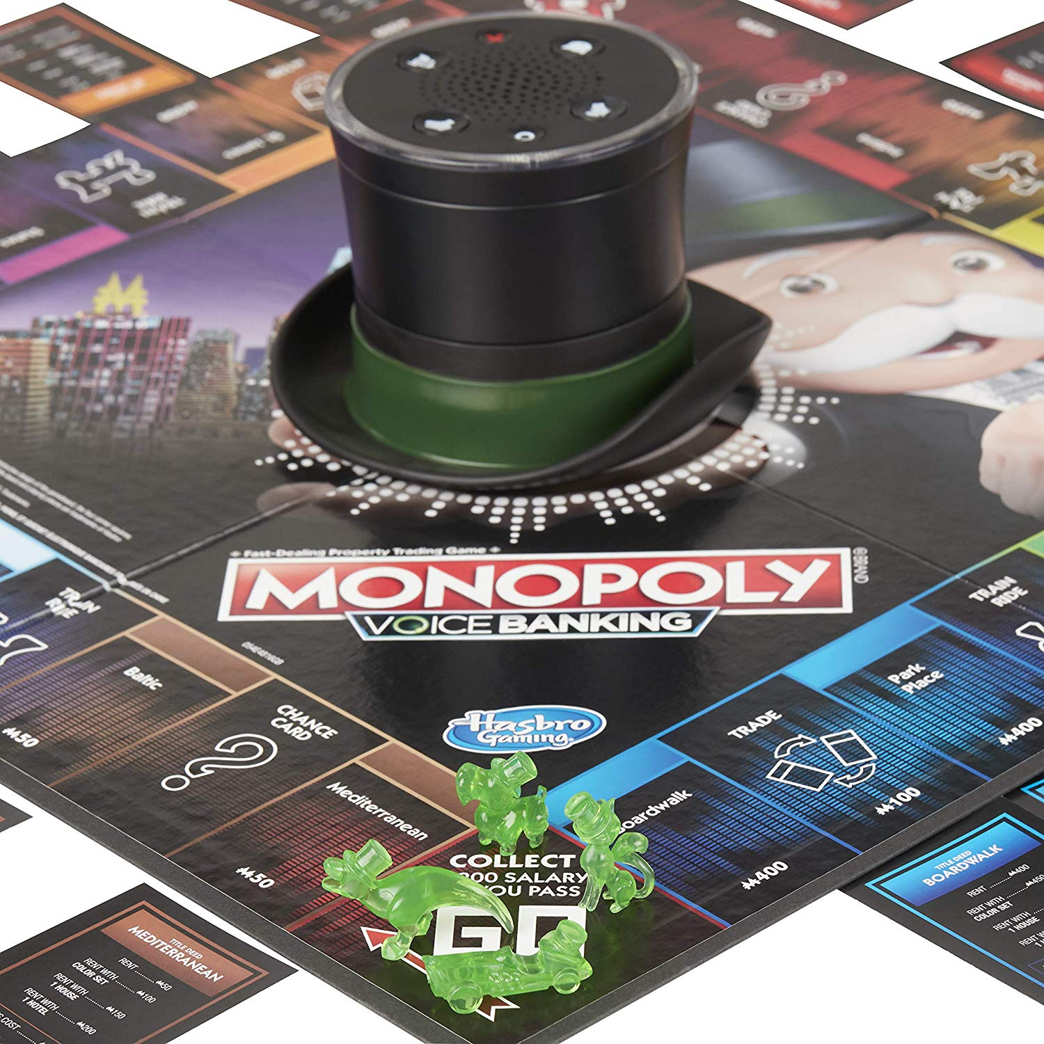 Mr Monopoly speaks up in game's new version