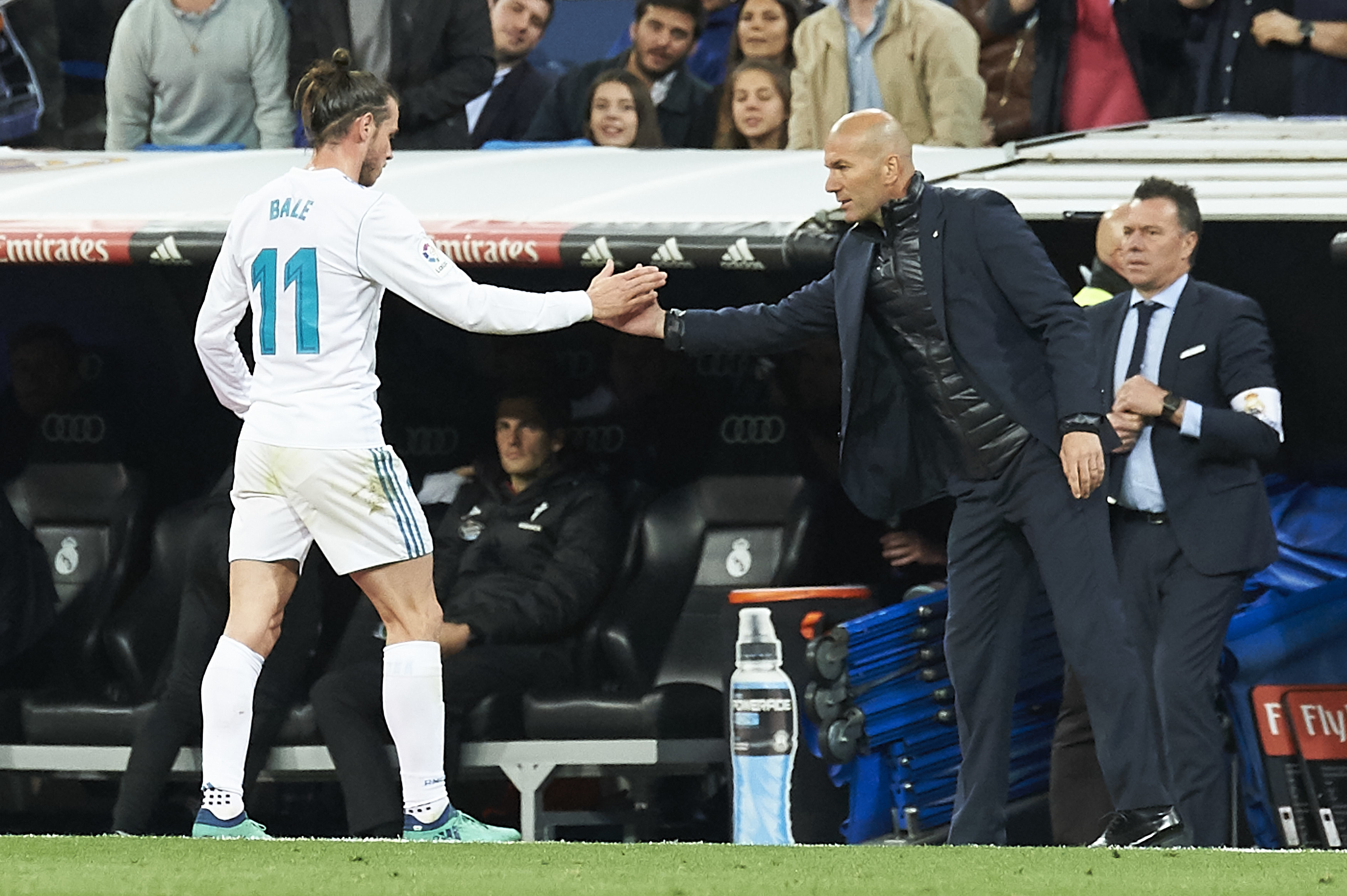 No loved loss between Zidane and Bale. Image PA Images