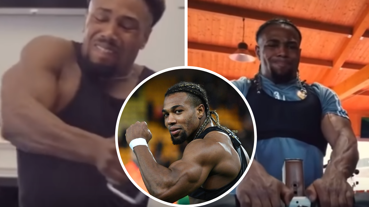 Adama Traore S Gym Routine Shows How He Has Become So Shredded Sportbible