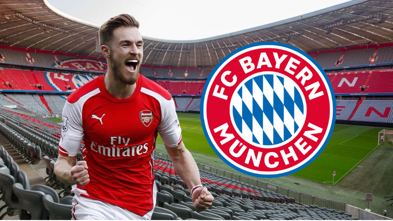 Bayern Munich Believe They Have Won The Race To Sign Aaron Ramsey