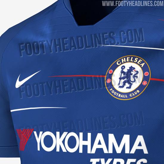 Footyheadlines Manchester United 2018 19 Season Home Kit: Chelsea's New Home Kit For 2018/19 Kit Leaked