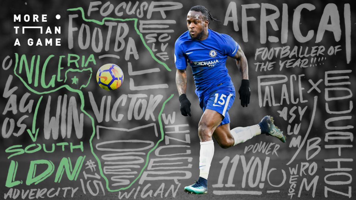 From Orphaned Asylum Seeker To Premier League Champion: How Victor Moses Triumphed Over Tragedy