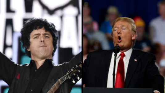 Green Day's 'American Idiot' Is In The Charts Ahead Of Donald Trump's UK Visit