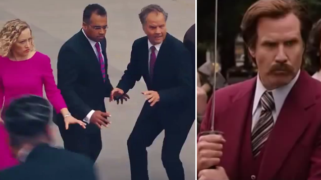 Channel 4, ITV And Sky News Teams Recreate The 'Anchorman' Scene And It's Perfect