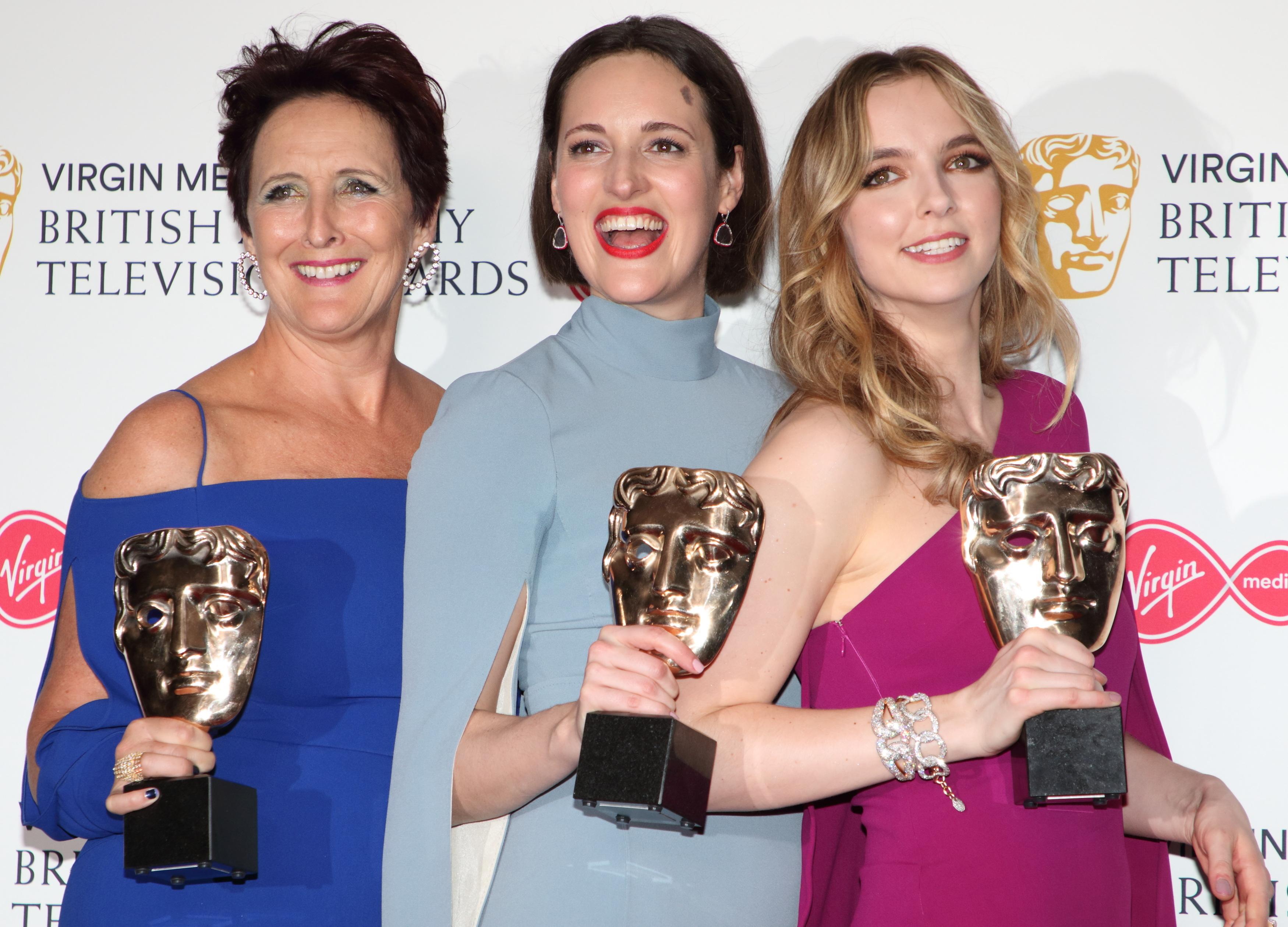 Killing Eve won three gongs at the BAFTA TV awards. Credit: PA