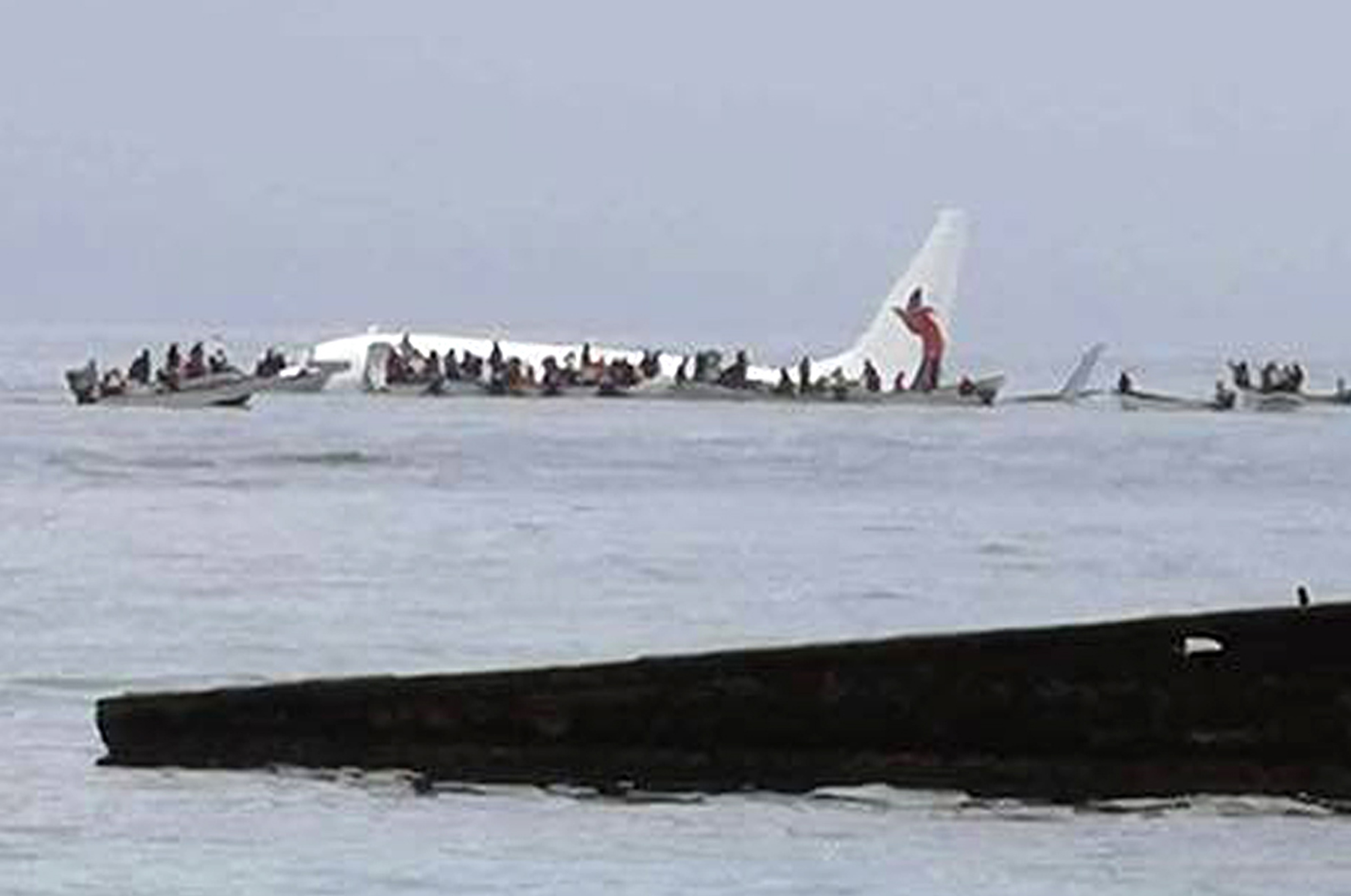 Air Niugini flight overshoots runway in Micronesia and crashes into ocean