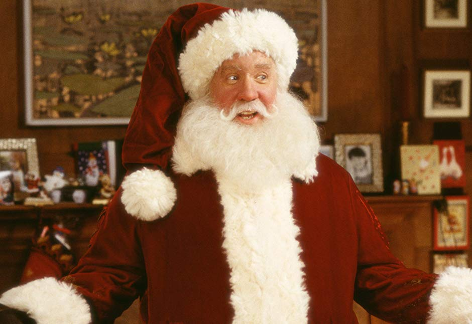 Tim Allen in The Santa Clause. Credit: Buena Vista Pictures