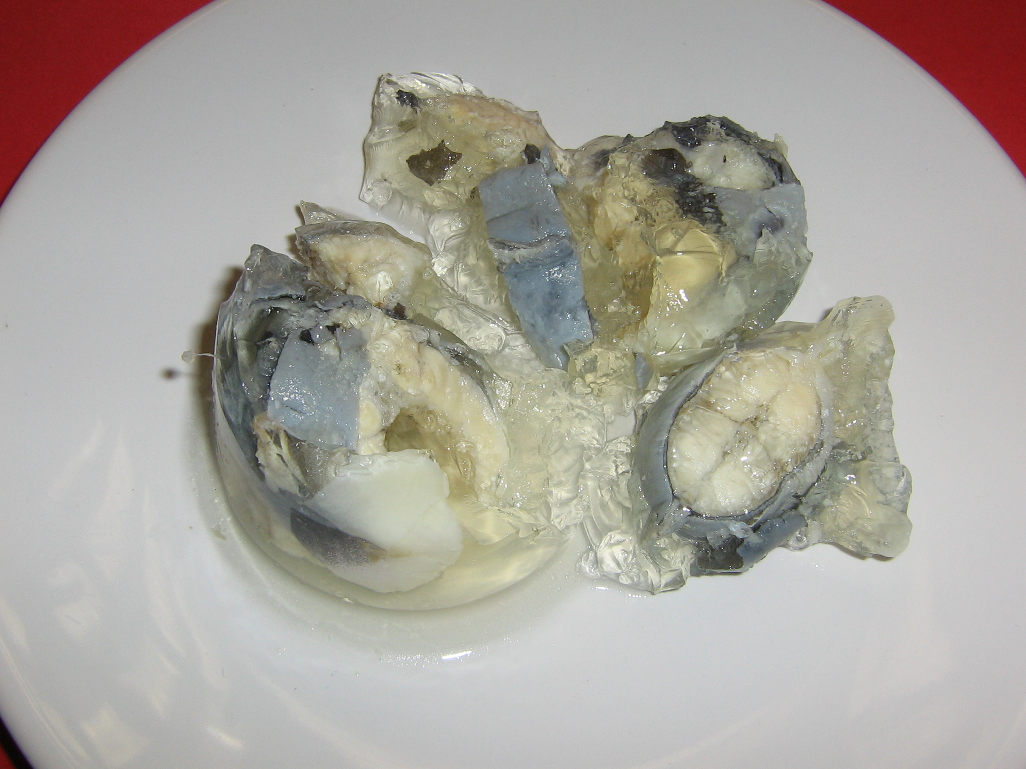 Jellied eels. Just no. Credit: Wikipedia