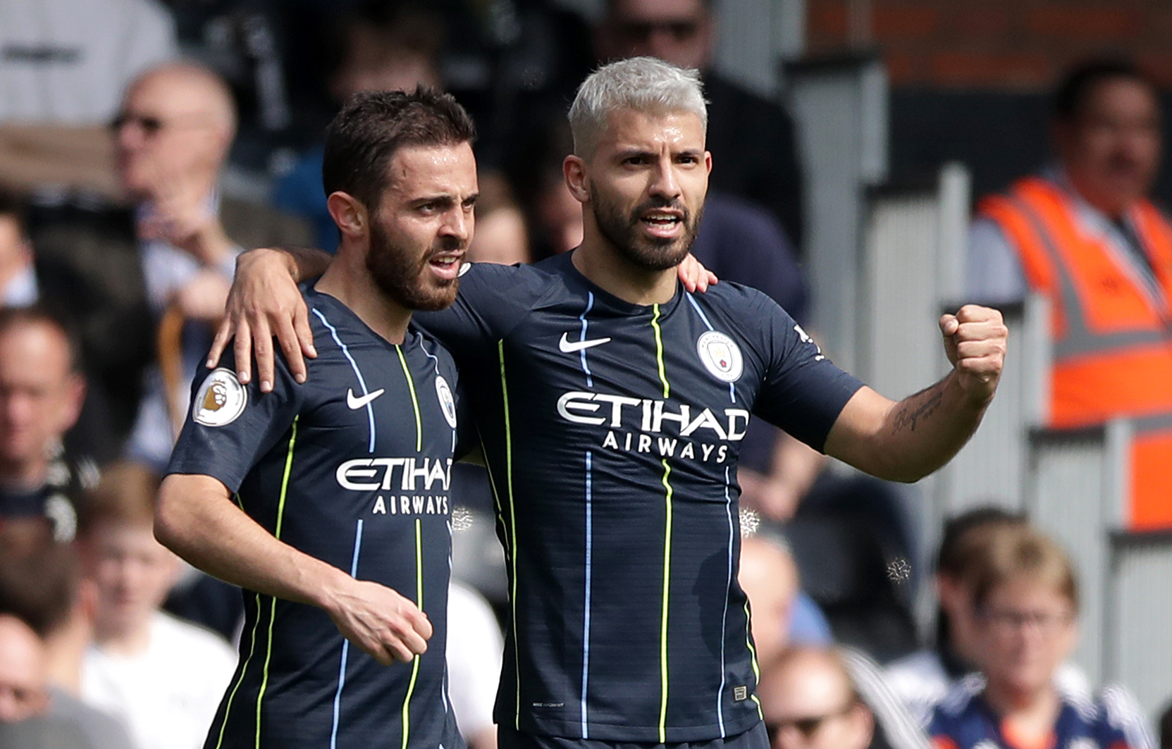 Man City cruise back to top