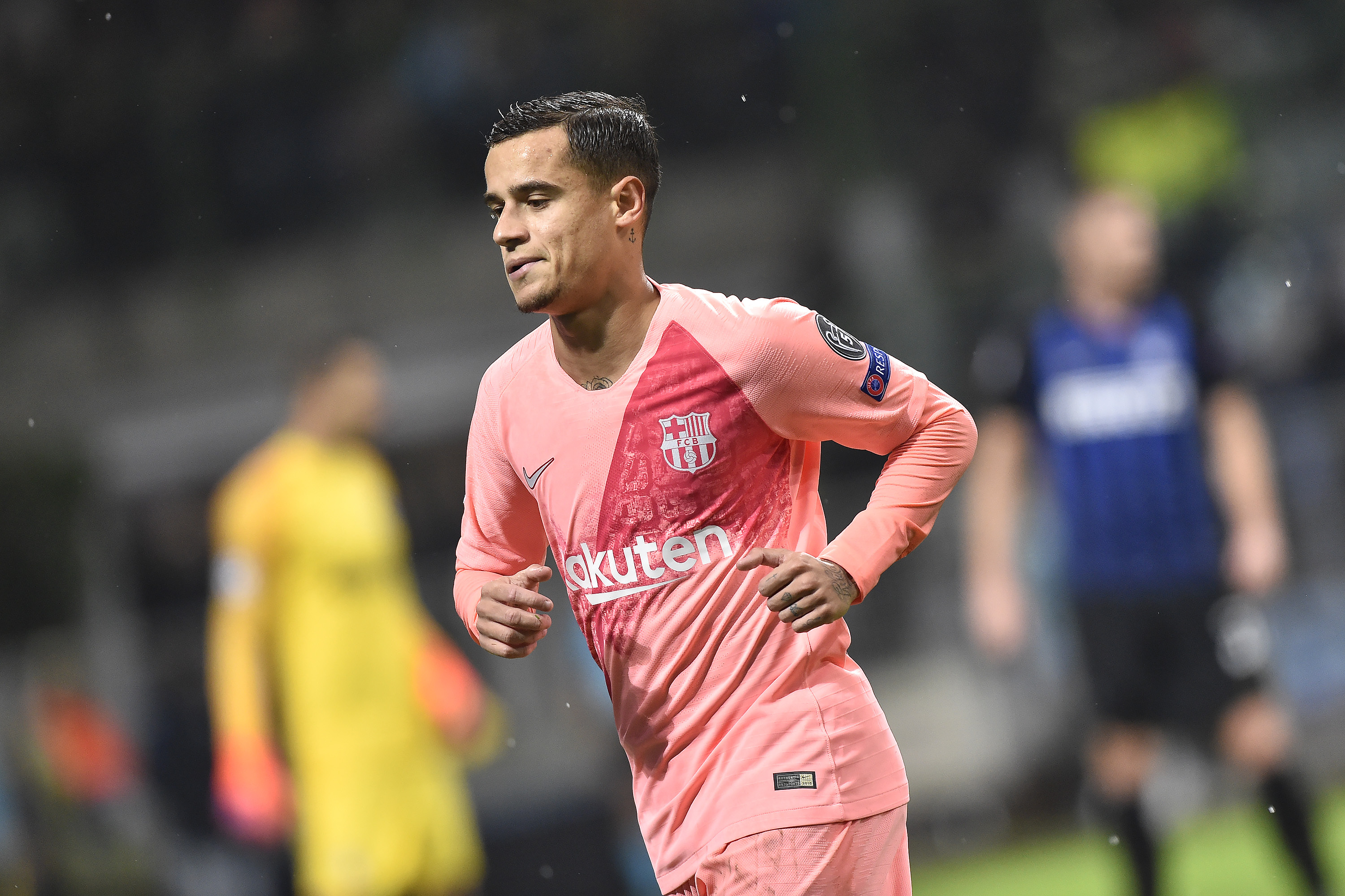 Philippe Coutinho returns to Barcelona training after thigh problem