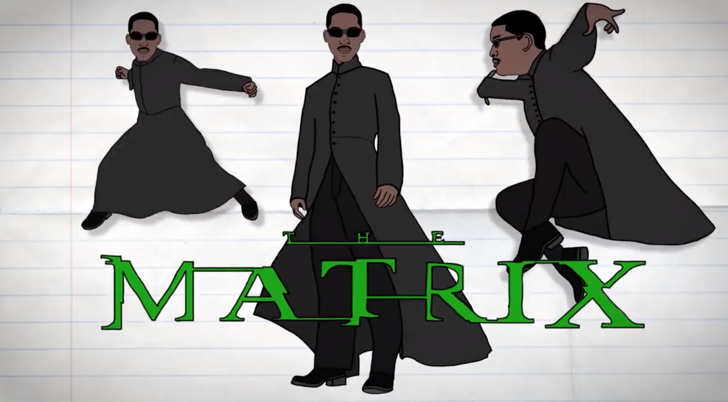 How do you reckon Will Smith would have done as Neo? Credit: Will Smith/YouTube