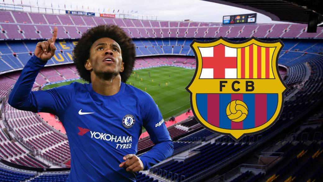 Barcelona 'Ready To Launch £50 Million Player-Plus Cash Bid' For Chelsea's Willian