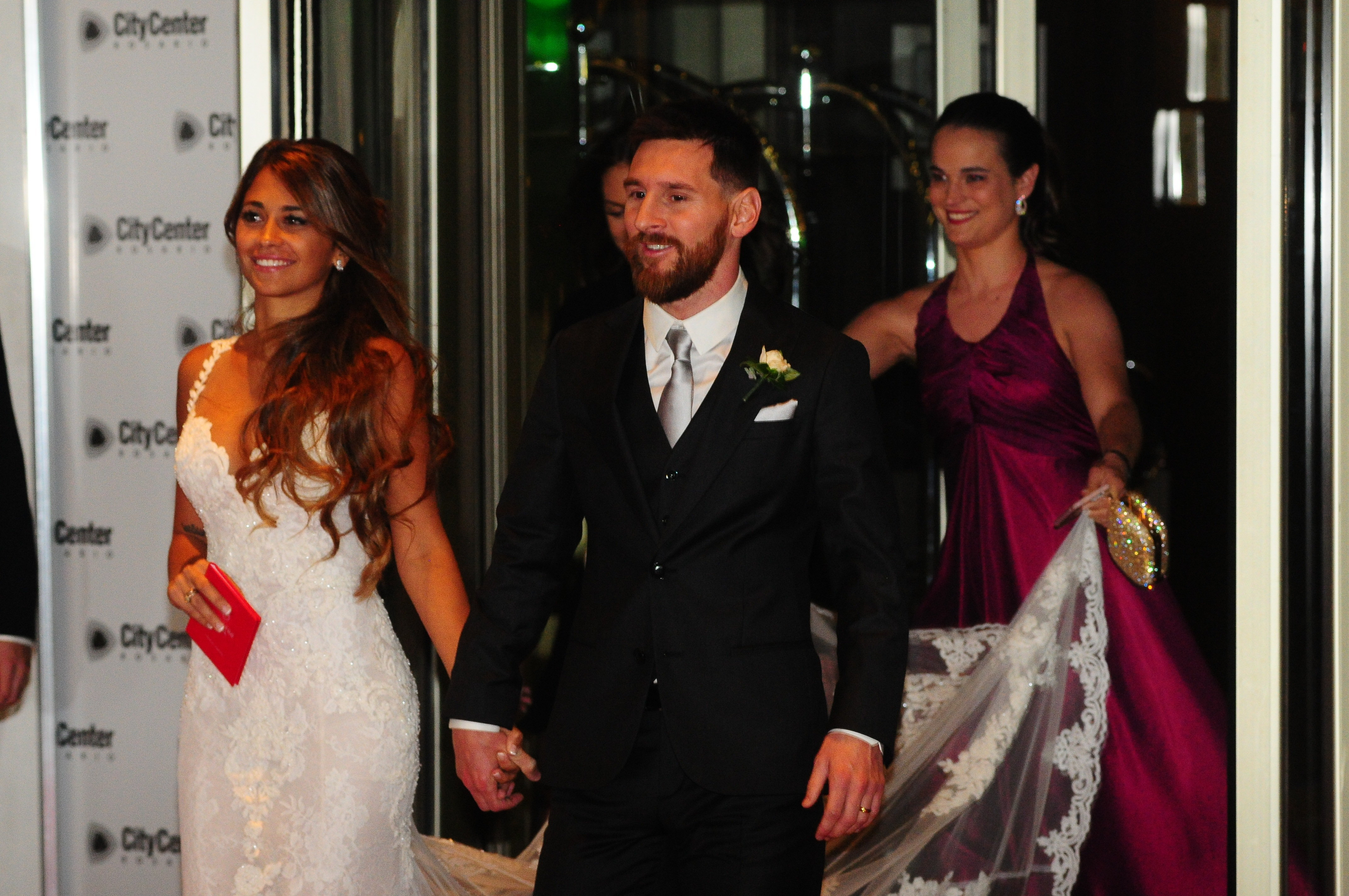 Neymar told Barcelona teammates he wanted to leave at Lionel Messi's wedding