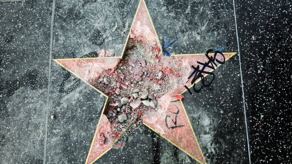 ​Donald Trump's Walk Of Fame Star To Be Removed
