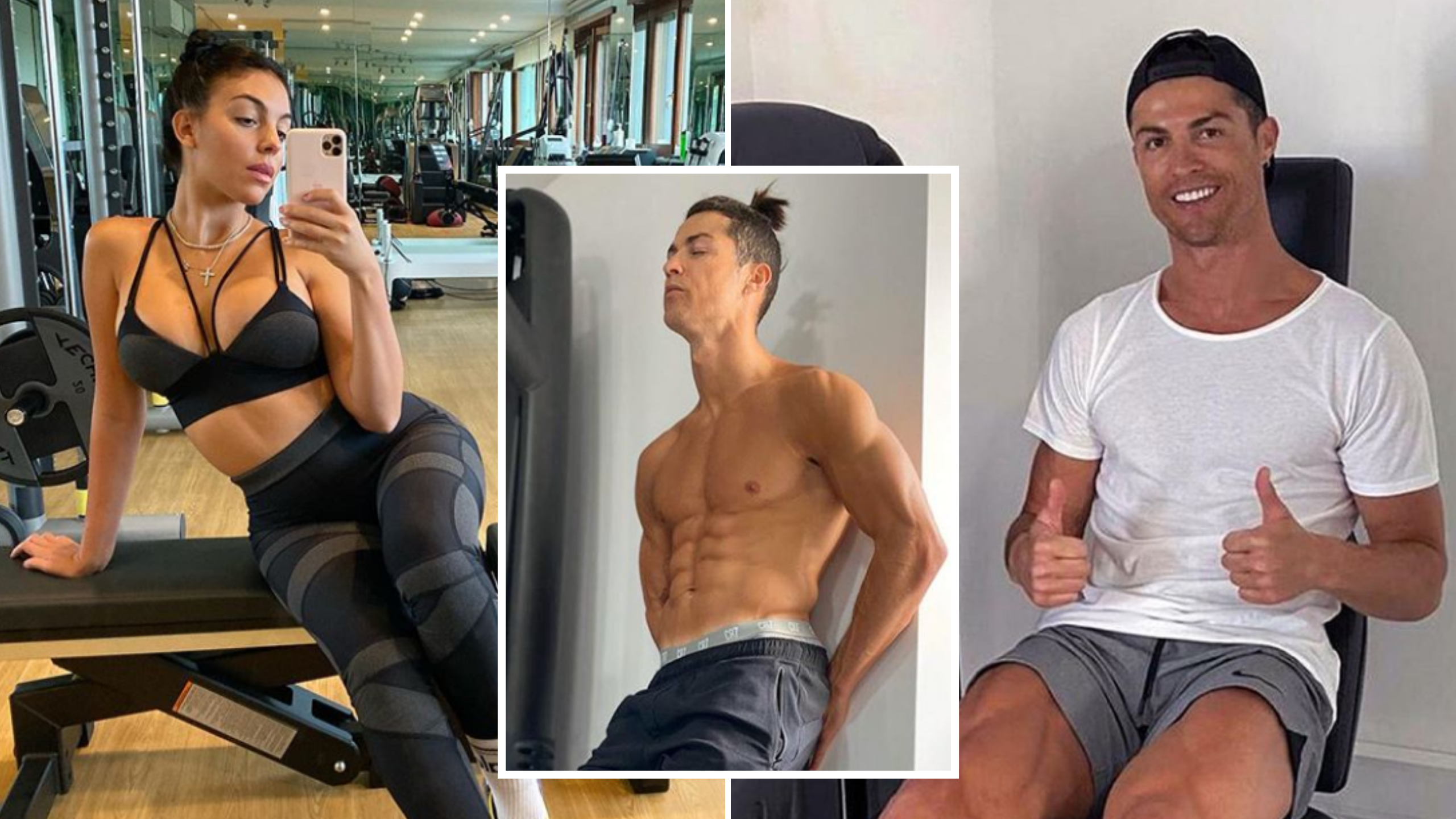 Cristiano Ronaldo S Girlfriend Reveals Why She Feels Ashamed Working Out With Him Sportbible