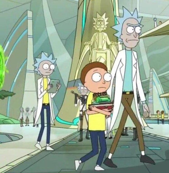 Rick and Morty's fourth season still up in the air