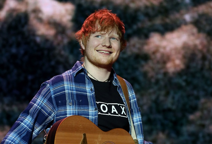 Ed Sheeran. Credit: PA