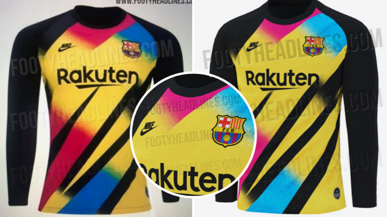 new arrival cc1f5 df0e6 Barcelona's 2019/20 Third Goalkeeper Kit Is Sure To Split ...