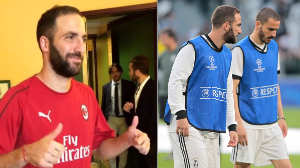 Terza Maglia AC Milan GONZALO HIGUAIN