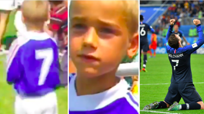 Antoine Griezmann Got France 1998 Heroes' Autographs As A Kid, Now He's In The World Cup Final
