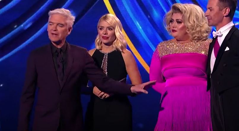 Holly and Phil tried to diffuse the situation. Credit: ITV
