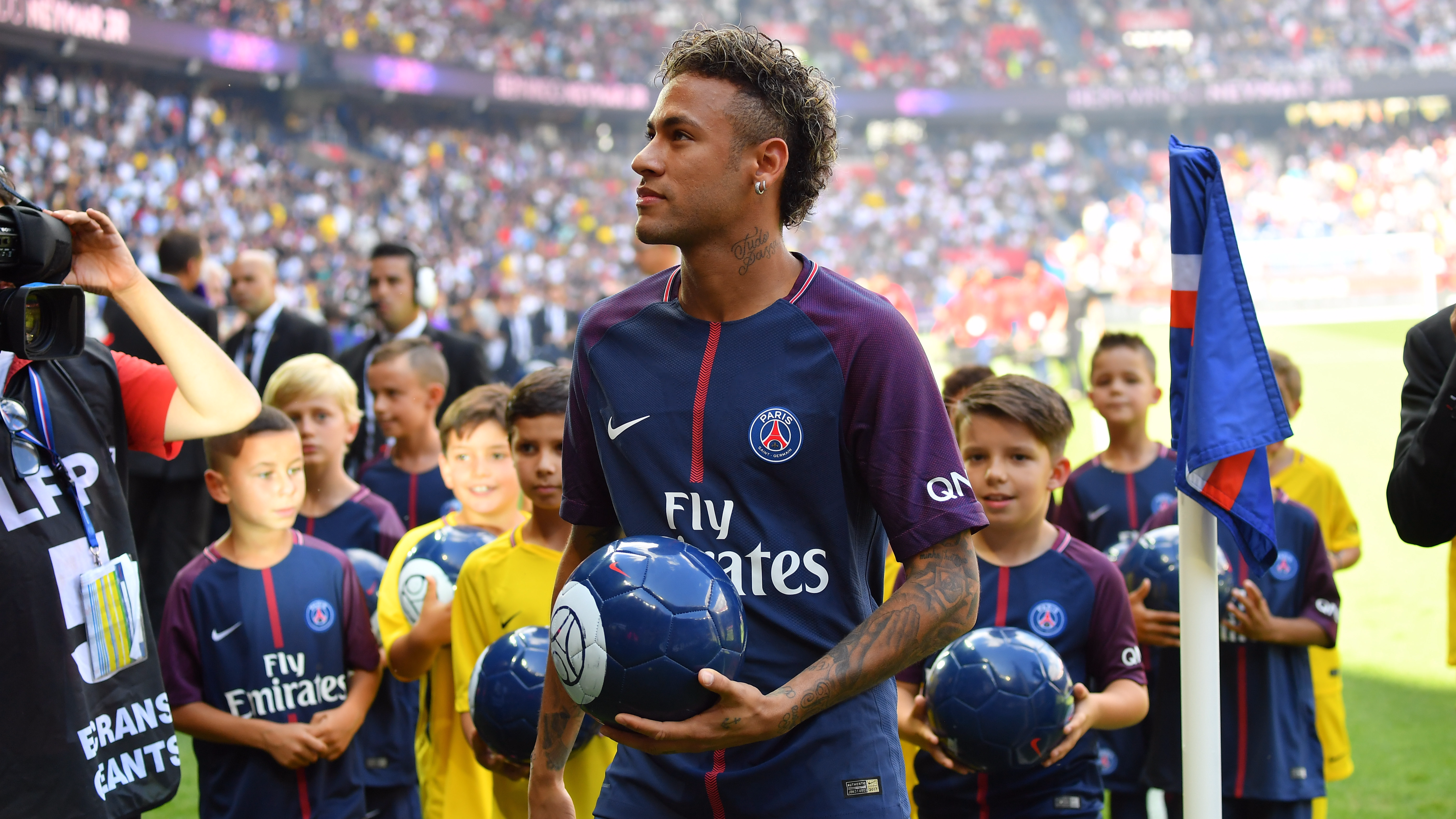 Neymar only arrived in Paris two years ago. Image: PA Images
