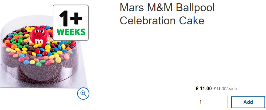 Tesco Is Selling Mms Party Cakes And Theyre A Birthday Wish Come