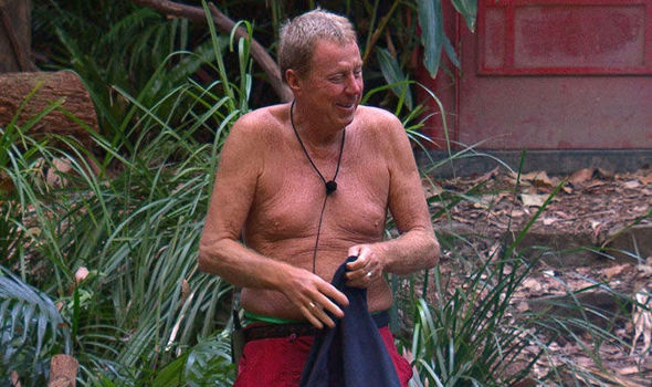 Harry's apparently lost half a stone while living in the jungle. Credit: ITV