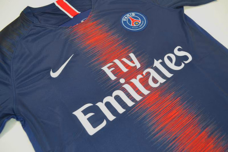 ff4a454de Next season then they are likely to be back wearing Ligue 1 champions  patches on their kit and the home shirt for the 2018 19 season has been  leaked