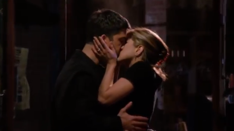 Ross And Rachel's First Kiss In 'Friends' Was 23 Years Ago Today