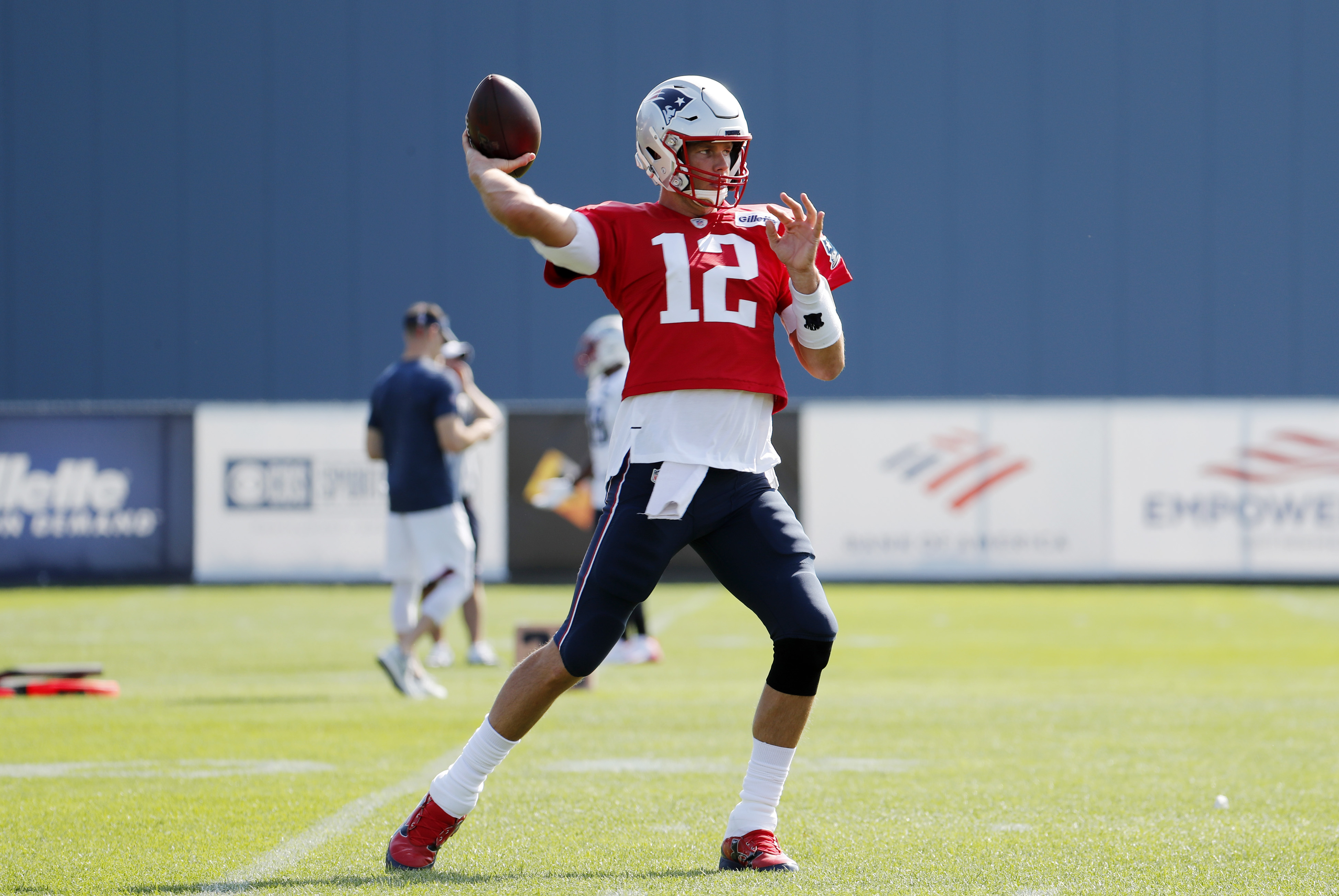 Tom Brady is braced for his 20th season in the NFL