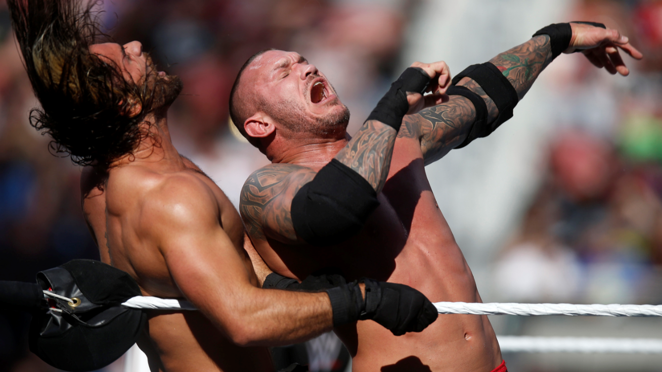 Wrestler Randy Orton Accused Of Pulling Out His D*** In Front Of WWE Writers