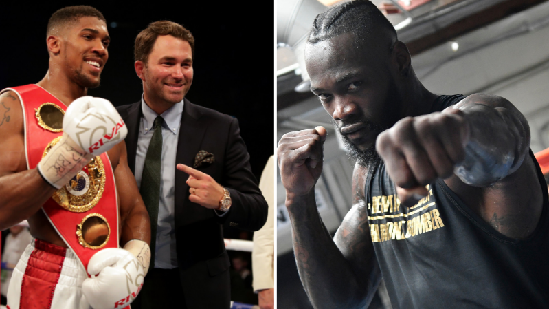 Deontay Wilder Tears Into Anthony Joshua And Eddie Hearn