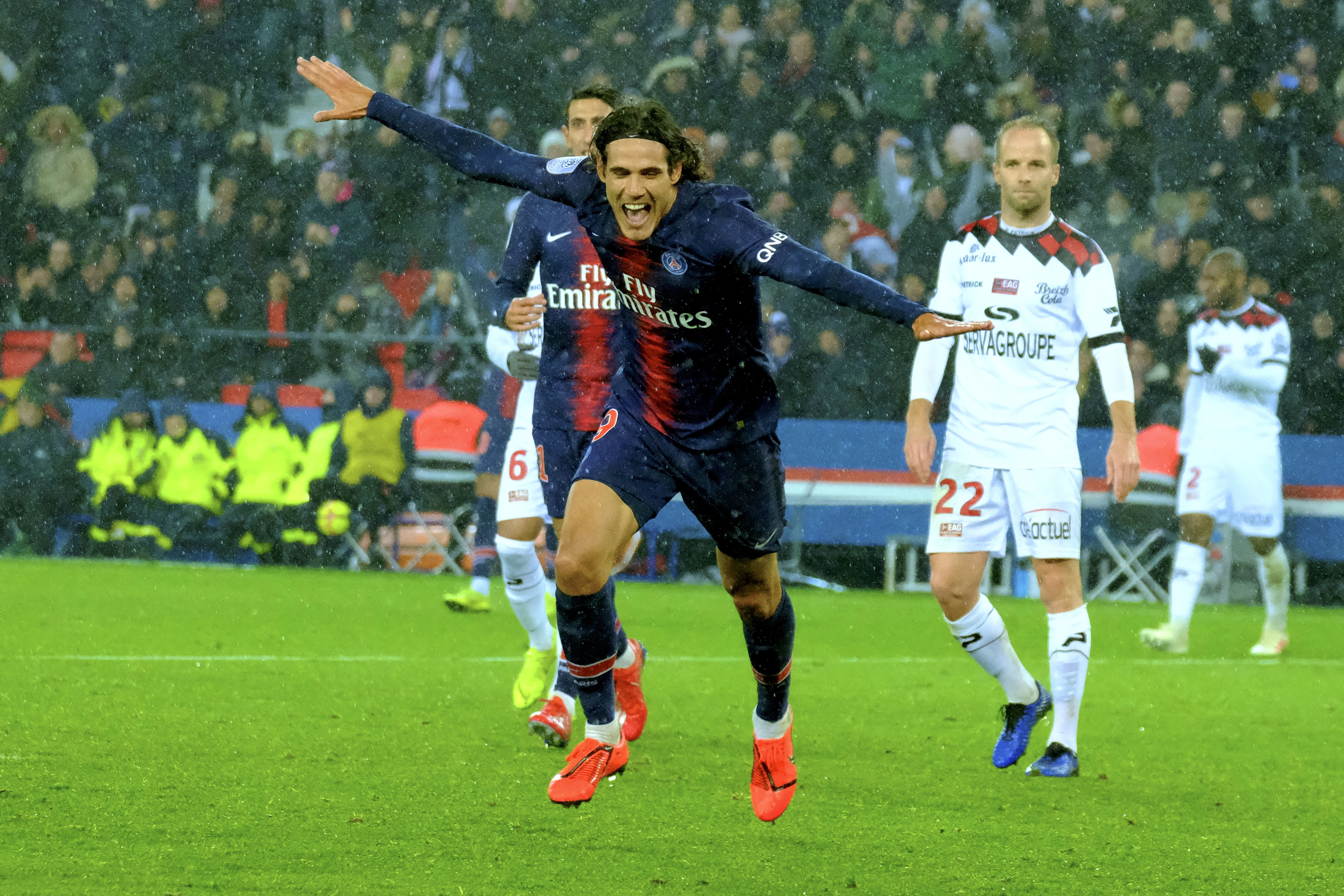 Cavani has been extremely important to PSG. Image: PA Images