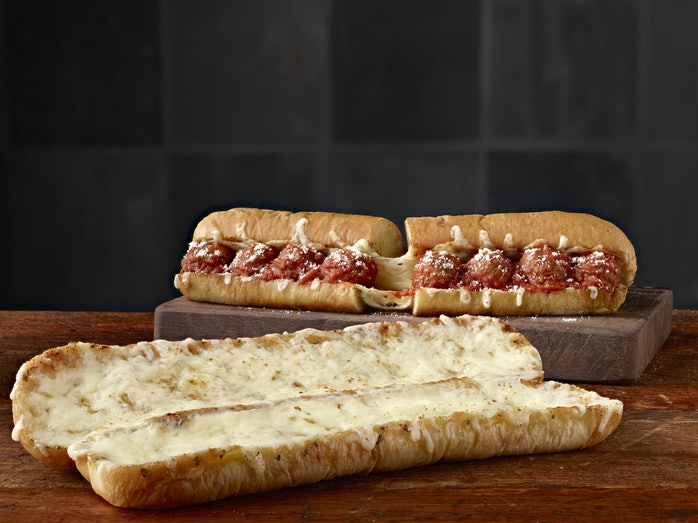 The Ultimate Cheesy Garlic Bread is a genuine game-changer, let's face it. Credit: Subway