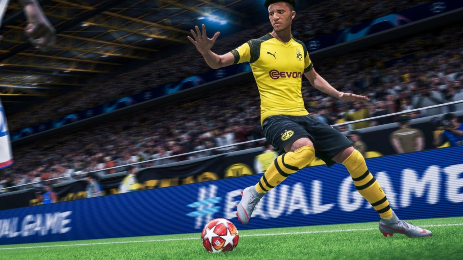 Jadon Sancho will be tricker than ever in FIFA 20 Credit: EA