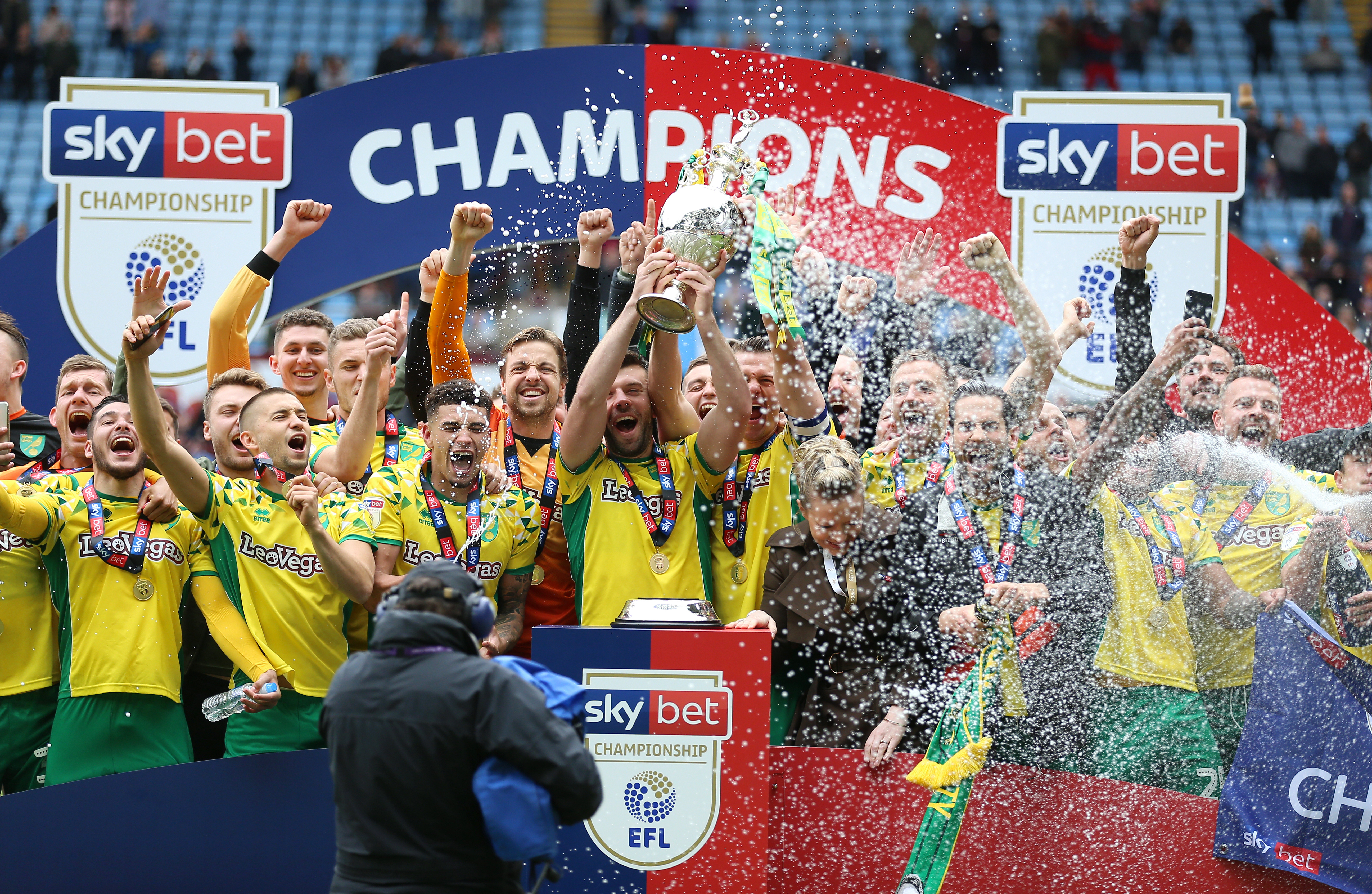 From champions to relegation for Norwich? Image: PA Images