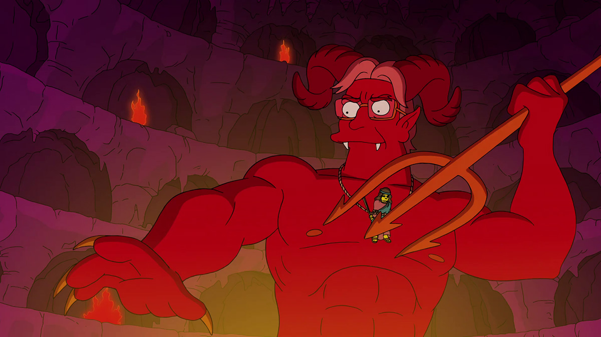The Devil Simpsons
