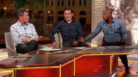 ​World Cup: Ian Wright Risks Knuckle Sandwich In On-Air Row With Roy Keane
