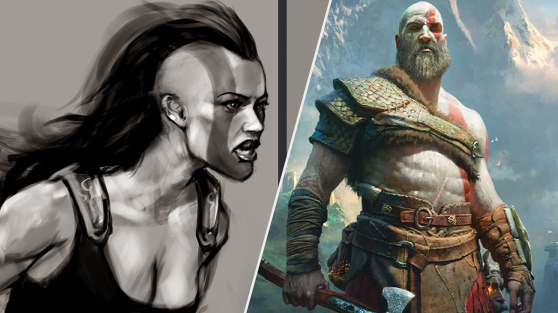 God Of War Nearly Gave Kratos A Warrior Daughter Years