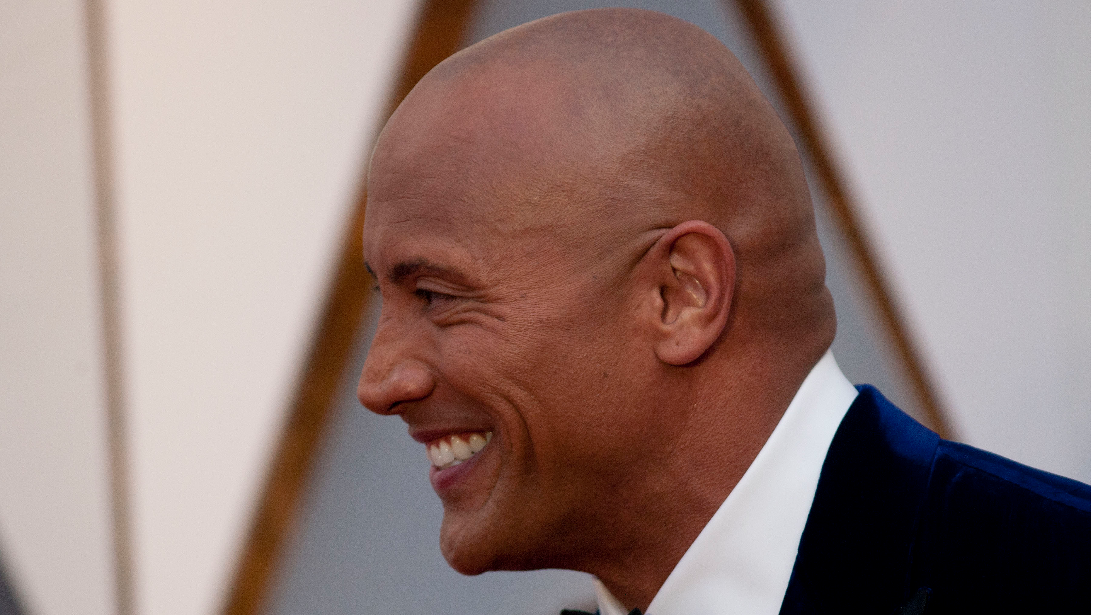 People Can't Get Over The Rock's New Beard