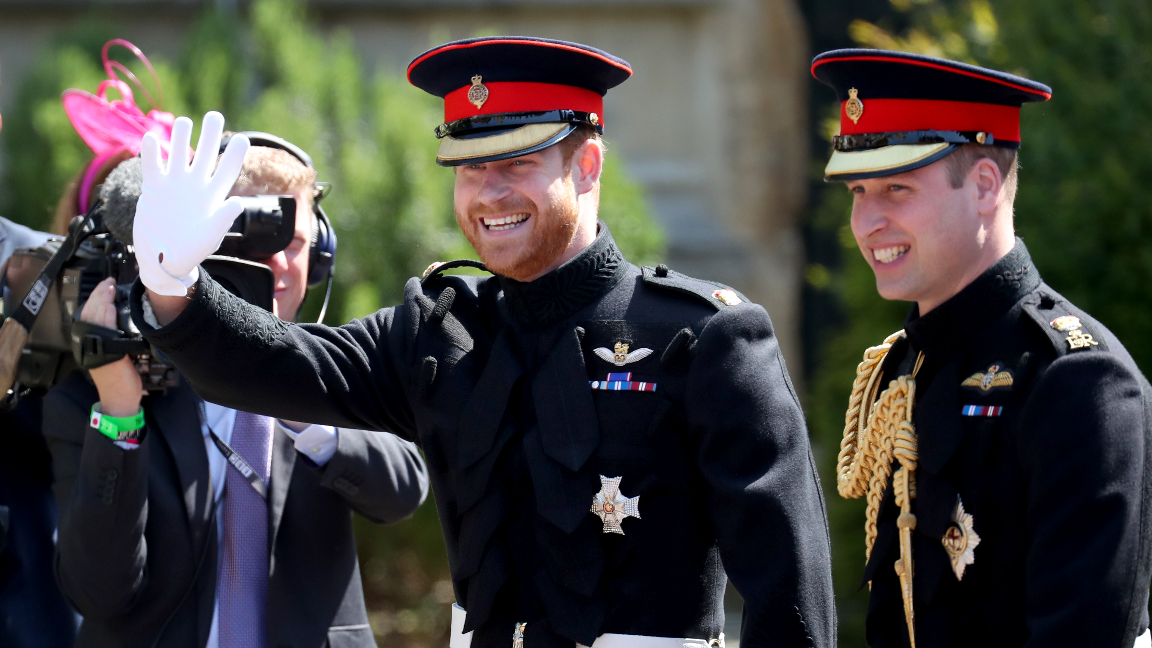 Prince William Makes Hilarious Speech At Harry And Meghans
