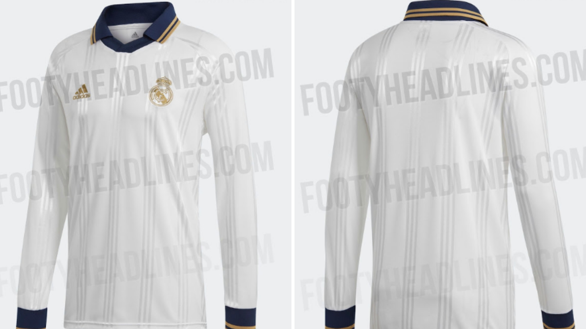 6380bc7135d Adidas  Real Madrid 2019 20 Icon Retro Jersey Has Leaked Online ...