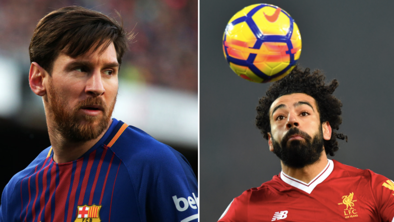 The Proof That Mohamed Salah Is A Better Goalscorer Than Lionel Messi This Season