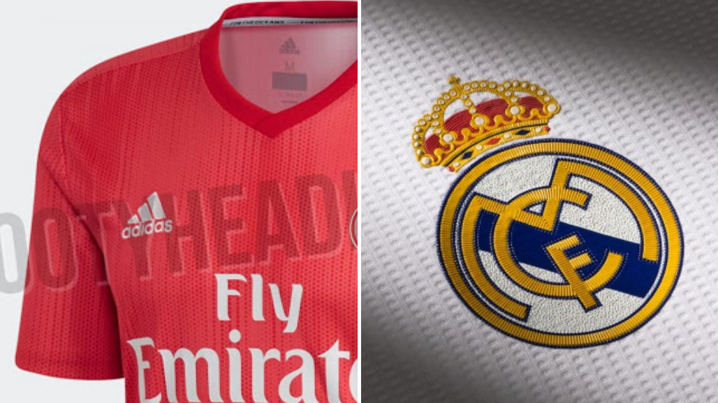 203a23d71 Leaked Real Madrid Third Kit Images Show Iconic Badge With No Crown ...
