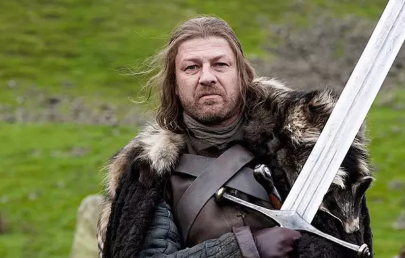 Seven seasons on from his untimely death, could we be about to see the return of Ned Stark? Credit: HBO