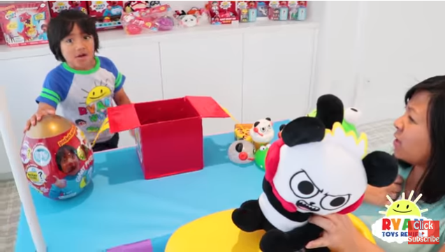 Ryan's channel has over 26 billion views. (Credit: Youtube/Ryan ToysReview